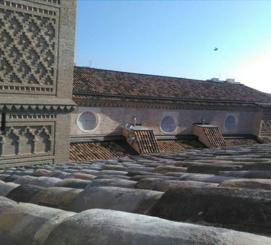 Rehabilitación de cubierta y fachada